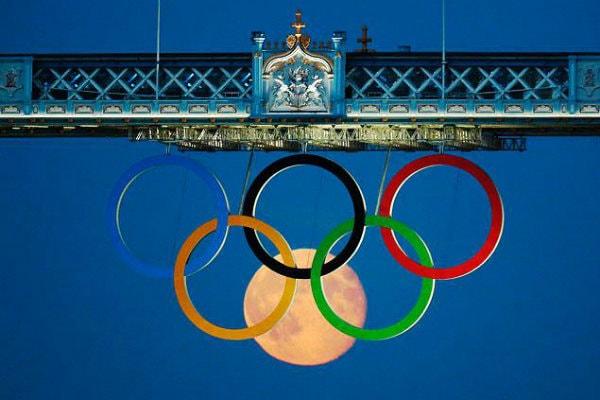 China Olympics Moon