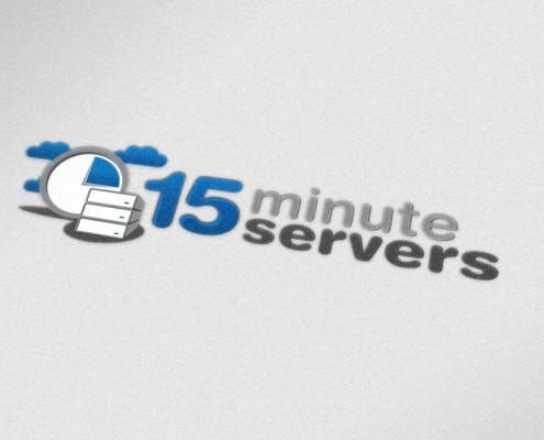 Server Website Design Logo